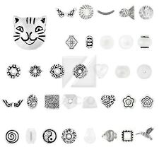 6-400pcs Lots Tibetan Silver Loose Charm Metal Spacer Beads 38 Style Jewelry