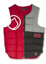 Liquid Force Flex Wakeboard Watersports Impact Vest S or M, Red. 51100