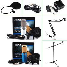 Studio Microphone Wind Screen Pop Filter Mask Shield For Recording Singing Shure
