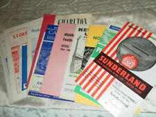 HARD TO FIND CHELSEA AWAY PROGRAMMES FROM 1962/3 DIV 2 SEASON - CHOOSE FROM LIST