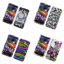 For Motorola Electrify M XT901 Hard Phone Case Design Rubberized Snap-On Cover