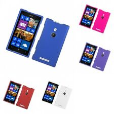 For Nokia Lumia 925 Hard Snap-On Rubberized Phone Skin Case Cover