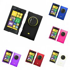 For Nokia Lumia 1020 Hard Snap-On Rubberized Phone Skin Case Cover