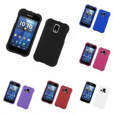 For Kyocera Hydro XTRM Hard Snap-On Rubberized Phone Skin Case Cover