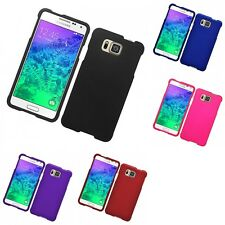 For Samsung Galaxy Alpha G850 Hard Snap-On Rubberized Phone Skin Case Cover