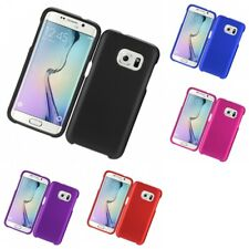 For Samsung Galaxy S7 Hard Snap-On Rubberized Phone Skin Case Cover