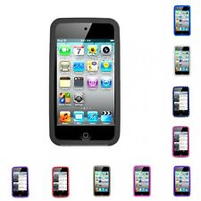 For iPod Touch 4th Generation Case Silicon Gel Rubber Soft Flexible Phone Cover