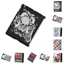 For Apple iPad 2 Hard Phone Case Design Rubberized Snap-On Cover