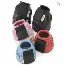 SHIRES EQUESTRIAN HORSE RIDING FULL PONY RUBBER OVERREACH BOOTS ALL SIZES