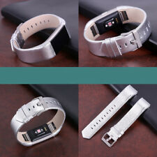 Luxury Leather Watch Band Strap For Fitbit Charge 2 Wrist Band Bracelet Sports