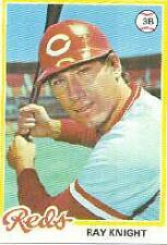 1978 Topps #674 Ray Knight RC - EX-MT