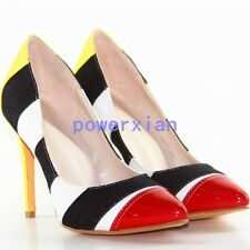 Womens High Heel Stilettos Party Fashion New Pointy Toe Pumps Shoes ALL US Sz