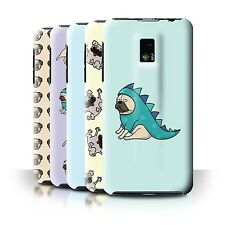 STUFF4 Back Case/Cover/Skin for LG Optimus 2X/P990/Cartoon Pug/Dog