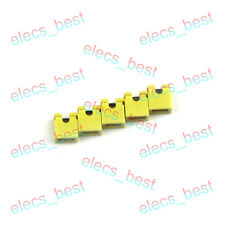 100pcs Pitch Jumper Cap Header Pin Shunt Yellow Red Blue 2.54mm