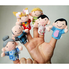 Baby Kids Child Finger Toys Puppet Soft Plush Smart Development Gifts 6-10Pcs