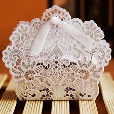 New 25PCS Luxury Wedding Favour Favor Sweet Cake Gift Candy Boxes Table Decor