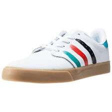 adidas Seeley Court Mens Trainers White Blue Red New Shoes