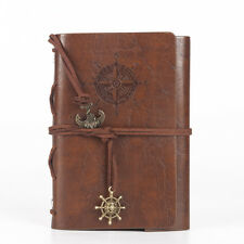 Classic Retro Leather Vintage Notebook Blank Diary Memo Note Book Journal Gift