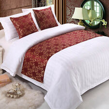 Pop Bed Runner Hotel Home Bedding Pillowcase Table Couch Protective Cloth Cover