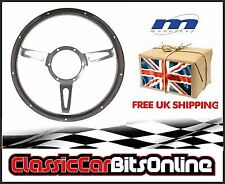 Classic Woodrim Steering Wheel To Fit Reliant All 3 Wheel (ALL ) Option Of Sizes