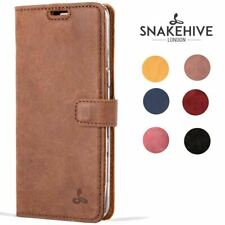 Snakehive® Samsung Galaxy S8 Vintage Leather Folio Wallet Phone Case Card Slots