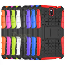 For HTC Desire 610 Heavy-Duty Armor Hybrid Stand Skin Case Cover