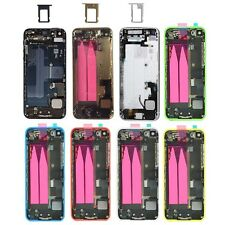 New for iPhone 5 5s 5c Full Housing battery cover back door case+Middle frame