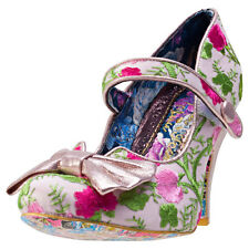 Irregular Choice Fancy This Womens Shoes Pink Floral New Shoes