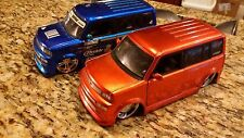 Jada Scion XB cars 1/24 scale   no box HTF 2 car collection  import racer