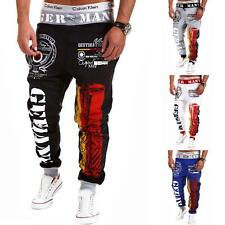 Men's Casual Jogger Dance Sportwear Baggy Harem Pants Slacks Trousers Sweatpants