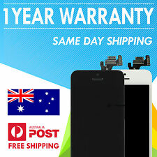 iPhone 5 LCD with Front Screen Digitizer Assembly (Black & White)