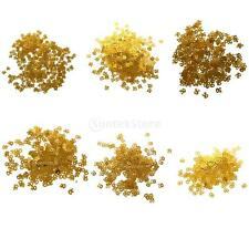 Table Confetti Sprinkle Age Birthday Wedding Party Anniversary Foil Golden