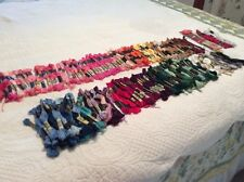 217 SKEINS DMC Floss & Perle Cotton Assort Colors Cross Stitch Embroidery Crafts