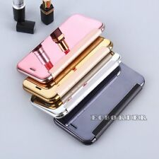Luxury Ultra Thin Mirror Smart Clear View Flip Case Cover For iPhone 5 6 7 Plus