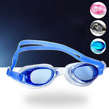 Non-Fogging Anti UV Swimming Goggle Glasses Adjustable Eye Protector for Adult