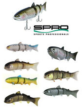 "SPRO BBZ-1 SWIMBAIT 8"" SLOW SINKING various colors"