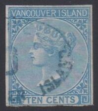 British Columbia Vancouver Island #4 Used Lightly Cancelled with Certificate