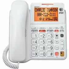 AT&T CL4940 CORDED TELEPHONE SPEAKER PHONE Large Display Big Button Caller-ID