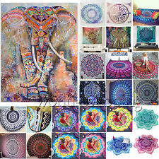 Bohemian Hippie Mandala Tapestry Beach Mat Wall Hanging Throw Towel Yoga Blanket