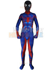 New Ultimate Spider-Man Cosplay Spiderman Costume Halloween Mask Zentai Jumpsuit