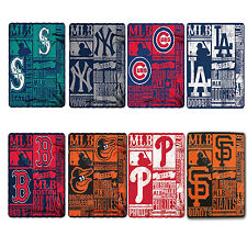 "Northwest Baseball Pick Your Team Soft Throw Blanket 50"" x 60"""