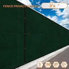 Customize 3'FT Privacy Screen Fence Green Commercial Windscreen Shade Cover Mesh