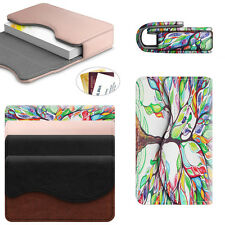 Credit Card Wallet Business Card Holder Leather Case Organizer Magnetic Closure