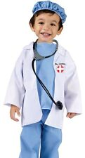 Surgeon Lil Doctor Costume Child Infant Toddler Dr. Littles 24M-2T, 3T-4T - Fast
