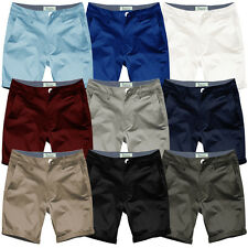Mens Chino Shorts by Stallion Summer Cotton Twill Half Pant Casual New Designer
