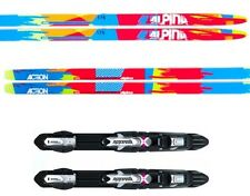 """NEW ALPINA """"ACTION"""" SKATING SKATE XC cross country SKIS/BINDINGS PACKAGE - 182cm"""