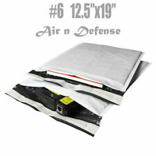 #6 12.5x19 Poly Bubble Mailers Padded Envelopes Bags Self Seal AirnDefense
