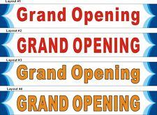 2ftX12ft Custom Printed Grand Opening Banner Sign