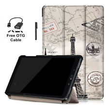 Fold Pattern Cover PU Leather Case for Samsung Galaxy Tab A 10.1 P585/P580