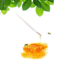10Pcs White Plastic Royal Jelly Soft Silicon Head Pen Beekeeping Tool Equipment